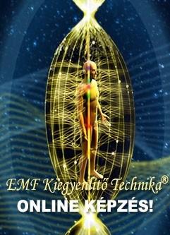 EMF KIEGYENLÍTŐ TECHNIKA® ONLINE KÉPZÉS: Universal Calibration Lattice® (UCL) Workshop & I-IV. Fázis Képzés (Magyar)