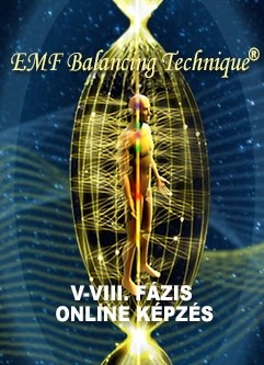 EMF KIEGYENLÍTŐ TECHNIKA® ONLINE KÉPZÉS: Universal Calibration Lattice® (UCL) Workshop & V-VIII. Fázis Képzés (Magyar)