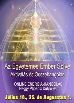 ENERGIA-HANGOLÁS SOROZAT: Az Egyetemes Ember Szíve (Angol/Magyar) / Heart of the Universal Human (English/Hungarian)