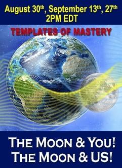 ENERGIA-HANGOLÁS SOROZAT: A Hold és TE! A Hold és MI! A Mesterszint Mintázatai - Holdciklusok Sorozat Augusztus és Szeptember (Magyar)