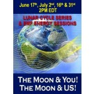 ENERGY EVENT SERIES: The Moon & YOU! The Moon & US! & EMF! Lunar Cycle Series June & July (English/Spanish)
