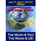 ENERGIA-HANGOLÁS SOROZAT: A Hold és TE! A Hold és MI! és EMF! Holdciklusok Sorozat Júniusban és Júliusban (Magyar)