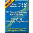 ENERGY EVENT SERIES: EMF Balancing Technique® Practice Mastery Phases V-VIII Group Energy Sessions (English/Spanish)