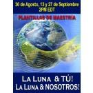 SERIE DE EVENTOS DE ENERGÍA: ¡La Luna & TÚ! ¡La Luna & NOSOTROS! Plantillas de Maestría - Serie de Ciclo Lunar Agosto & Septiembre (Español/Inglés)