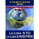 SERIE DE EVENTOS DE ENERGÍA: ¡La Luna y TÚ! ¡La Luna y NOSOTROS! (Español/Inglés)